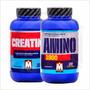 Creatina Monohidrato 300grs Micronizada + Amino 1900 Mervick