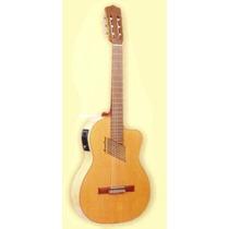 Guitarra Romantica Mantini N200w Con Eq Criolla