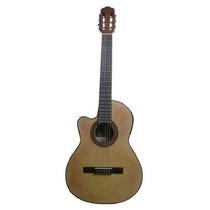 Guitarra Criolla Gracia Modelo M6 Eq Ecualizador Para Zurdo
