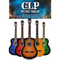 Guitarra Criolla Nacional 118 Varios Colores Glpmusic