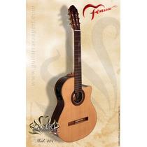 Guitarra Criolla Fonseca 40 Kec Electroacustica - En Palermo