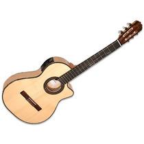 Guitarra Clasica La Alpujarra Modelo 86kec C/ Eq Concierto