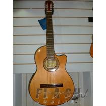 Guitarra Criolla Clasica Gracia M6eq C/microfono De 4 Bandas