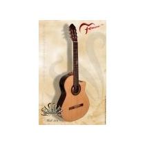 Guitarra Criolla Fonseca Con Eq Artec Mod. 40kec Caja Ancha