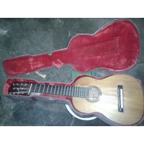 Guitarra Antigua De Concierto De 11 Cuerdas De 1887