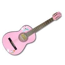 Guitarra Gracia Tamaño Niña Rosa Modelo Kitty Hasta 9 Años