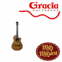 Gracia M8 Guitarra Acustica De Estudio Natural C/ Funda