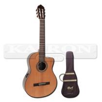 Guitarra Cort Ac250 Cf Cuerdas De Nylon Eq Fishman