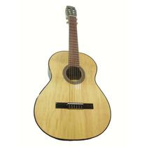 Guitarra Clásica De Estudio + Funda Reforzada + Puas
