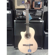 Guitarra Criolla Gracia M10eq Lh Para Zurdo