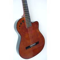 Guitarra Con Corte Electro Criolla Clasica 1/2 Caja, Unica