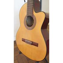 Excelente! Guitarra Electrocriolla Gracia M6 C/ Eq Prener Lc