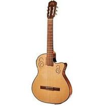La Alpujarra Mod. 300 Kec Guitarra Electrocriolla Sin Boca