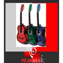 Guitarra Criolla El Trovador + Funda - Pilar Music Champagna