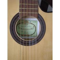 Guitarra Nueva Antigua Casa Nunez Con Corte¨´mod( 052)