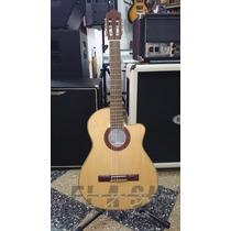 Guitarra Clasica Fonseca 40 Kec Con Eq C/ Estuche Rigido Skb
