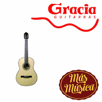 Gracia M9 Guitarra Acustica Natural C/ Funda