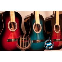 Guitarra Criolla De Estudio Atahualpa 100% Madera+fundabasic