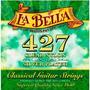 Encordado Para Guitarra Clasica Concierto 427 Elite La Bella