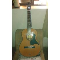 Guitarra Criolla Fernandez - Con Doble Mic. Y Afinador