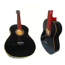 Guitarra Clasica De Estudio +funda Reforzada +afinador +puas