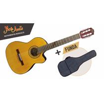 Guitarra Criolla Clásica Gracia M6 Tvd Con Eq / Micrófono