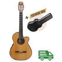 Guitarra La Alpujarra 85kec C/ Eq Presys Plus + Estuche Skb3