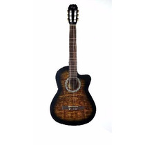 Guitarra Clásica Criolla Parquer Gcc100vb Con Corte C Nylon