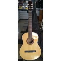 Guitarra Clasica De Estudio Superior Con Funda!!!