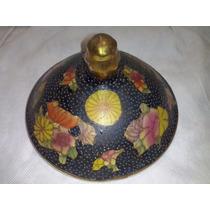 Tapa Caramelera O Potiche De Ceramica Decorada