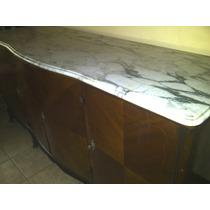 Cristalero Vaiut Antiguo Con Tapa Marmol De Arabescato