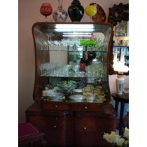 Abba.vajillero,cristalero,aparador,vitrina Bar Frances Antig