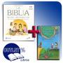 Biblia De Los Niños Y Libro De San Francisco Asis Y Cd
