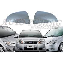 Cacha De Espejo Cromada Ford Fiesta 02-> Ka 08->