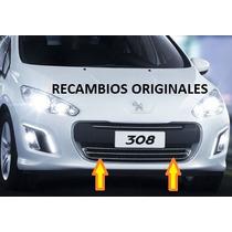 Rejilla Embellecedor Cromado Paragolpe Original Peugeot 308