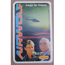 Airwolf - Lobo Del Aire - Naipes Cromy 1984 - Nuevos Sin Uso