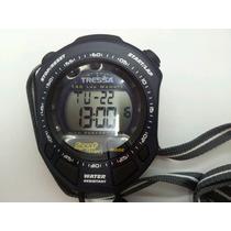 Cronometro Tressa 150 Vueltas .azul Con Negro