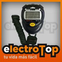 Cronometro Digital Portatil Profesional Modena - 10 Memorias