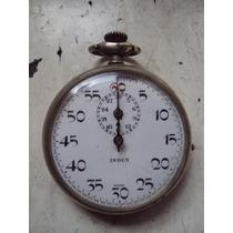 Reloj Cronometro Antiguo De Bolsillo Funcionando