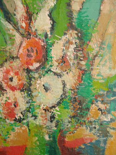 Cuadro Primavera Gaston Jarry Oleo Sobre Carton 30x42