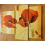 Cuadros Abstractos Florales Pintados A Mano Raiim