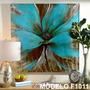 Cuadros Modernos 100x100 Abstractos Tripticos Texturados
