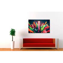 Cuadros Impresos Tela Canvas 35x30cm Colección Abstractos!