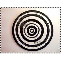 Cuadros Abstractos Circulos Modernos Pintados A Mano