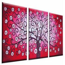 Cuadros Decorativos Abstractos Decoracion Living Triptico
