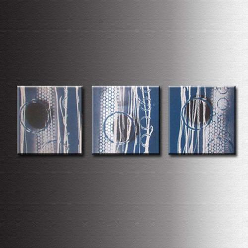 Cuadros abstractos tripticos dipticos flores modernos for Imagenes cuadros abstractos modernos