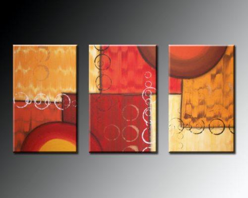Tripticos cuadros abstractos imagui Cuadros tripticos modernos para comedor