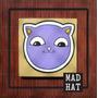 Cuadros Gatos / Infantil / Kawaii / Pintado A Mano