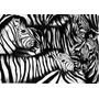 Cebra Opcion 7 -en Bastidor De 90x60.exelente Calidad