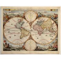 Mapas Antiguos Planisferios Regionales Y Maritimos
